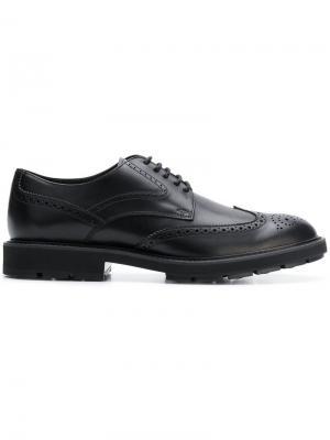 Classic derby shoes Tod's. Цвет: черный