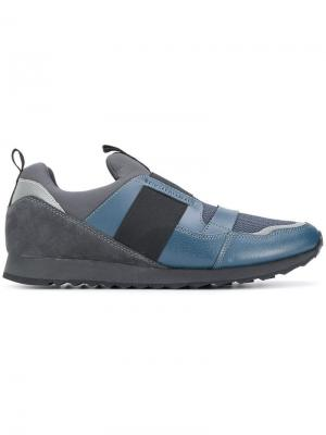 Slip-on sneakers Trussardi Jeans. Цвет: синий