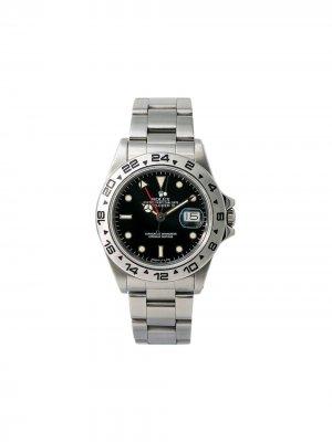 Наручные часы Explorer II pre-owned 40 мм 1985-го года Rolex. Цвет: черный