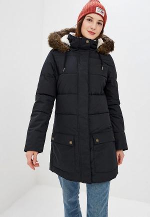 Куртка утепленная Roxy. Цвет: черный