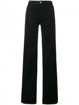 Широкие джинсы Calvin Klein 205W39nyc. Цвет: черный