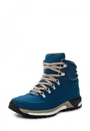 Ботинки трекинговые adidas Performance. Цвет: синий