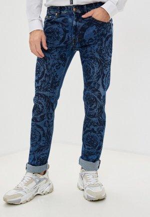 Джинсы Versace Jeans Couture. Цвет: синий