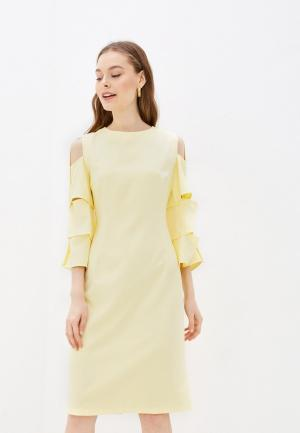 Платье Adzhedo. Цвет: желтый