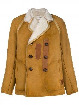 Buttoned jacket Maison Margiela. Цвет: коричневый