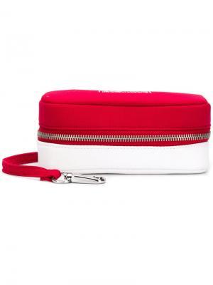 Zip around eyewear pouch Eastpak. Цвет: красный
