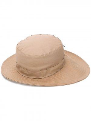 Шляпа с нашивкой Chloé. Цвет: серый
