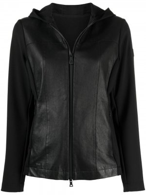 Куртка с нашивкой-логотипом Peuterey. Цвет: черный