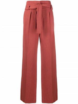Прямые брюки Apollonia IRO. Цвет: красный