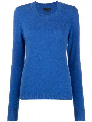 Пуловер Alexa с подплечниками Isabel Marant. Цвет: синий