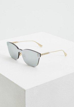 Очки солнцезащитные Christian Dior. Цвет: серебряный