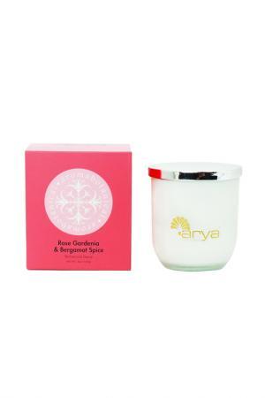 Ароматическая свеча ARYA HOME COLLECTION. Цвет: розовый