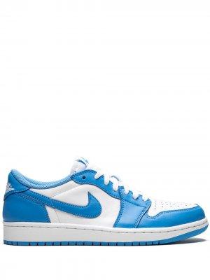 Кроссовки Air  1 Low SB Jordan. Цвет: синий