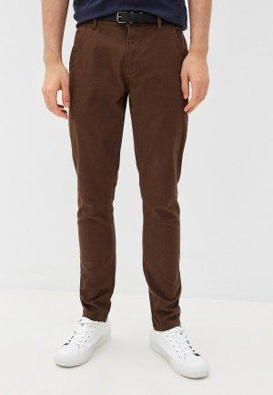 Брюки Lindbergh. Цвет: коричневый