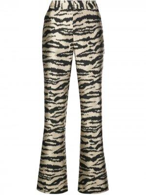 Расклешенные брюки Hensley Cynthia Rowley. Цвет: золотистый