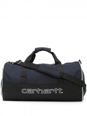 Дорожная сумка с логотипом Carhartt WIP. Цвет: разноцветный