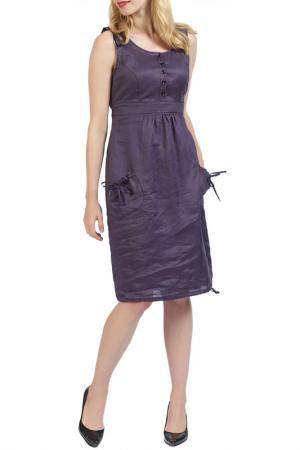 Платье Apanage. Цвет: фиолетовый
