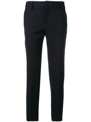 Укороченные брюки Pt01. Цвет: синий