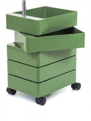 Тумба на колесиках magis. Цвет: зеленый