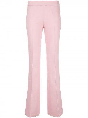 Расклешенные брюки Giambattista Valli. Цвет: розовый