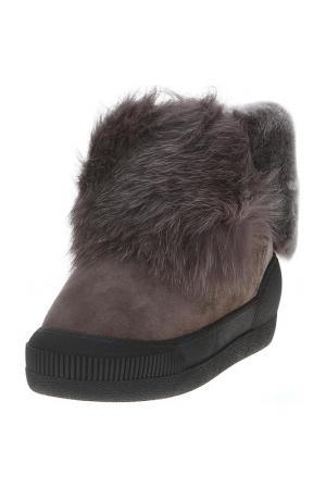 Ботинки AQUAMARIN. Цвет: коричневый