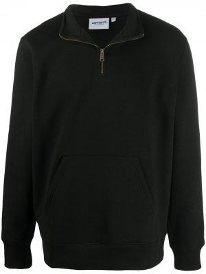Пуловер с воротником на молнии Carhartt WIP. Цвет: черный