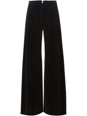 Расклешенные брюки Emanuel Ungaro Pre-Owned. Цвет: черный