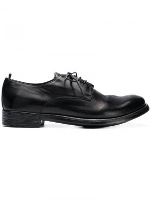Lace up shoes Officine Creative. Цвет: черный