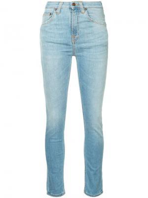 Классические джинсы скинни Nudie Jeans Co. Цвет: синий