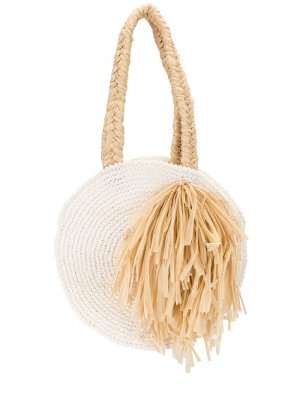 Пляжная сумка Tulum 0711. Цвет: белый