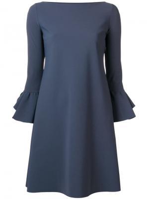 Ruffle sleeves dress Le Petite Robe Di Chiara Boni. Цвет: серый