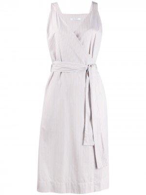 Поплиновое платье Lucia Norse Projects. Цвет: нейтральные цвета