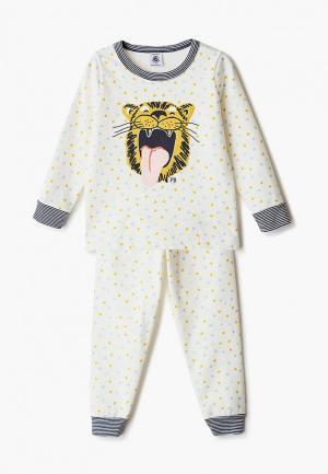 Пижама Petit Bateau. Цвет: бежевый