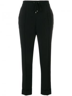 Укороченные брюки с эластичным поясом Kenzo. Цвет: черный