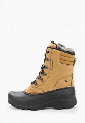 Ботинки CMP. Цвет: коричневый