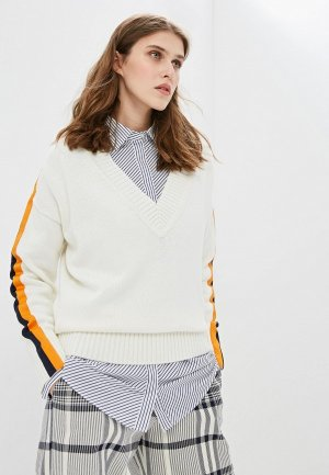 Пуловер Hugo. Цвет: бежевый