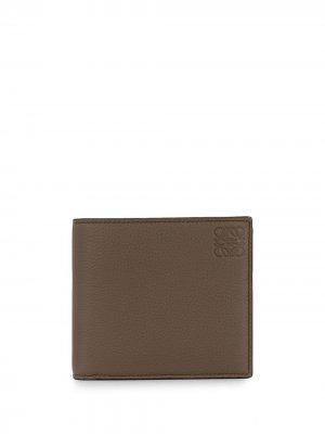 Складной кошелек LOEWE. Цвет: коричневый