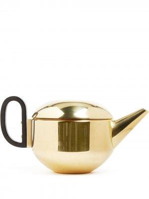 Заварочный чайник Form Tom Dixon. Цвет: золотистый