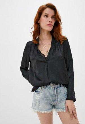 Блуза Zadig & Voltaire. Цвет: черный