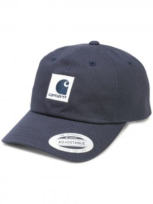 Бейсболка Lewiston с нашивкой-логотипом Carhartt WIP. Цвет: синий