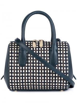 Мини сумка через плечо Youkali Nina Ricci. Цвет: серый