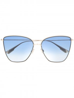 Солнцезащитные очки DiorSociety1 Dior Eyewear. Цвет: золотистый
