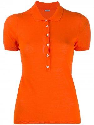 Рубашка поло с короткими рукавами Malo. Цвет: оранжевый