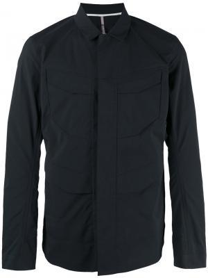 Куртка на кнопках Arcteryx Veilance Arc'teryx. Цвет: чёрный