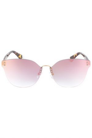 Очки солнцезащитные Byblos. Цвет: розовый