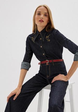 Рубашка джинсовая Vivienne Westwood Anglomania. Цвет: синий