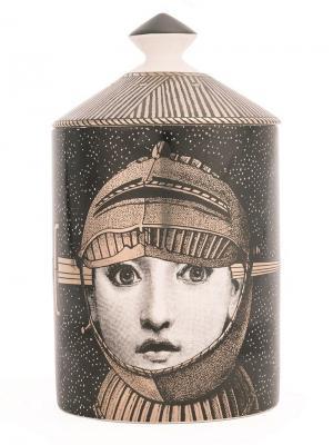 Восковая свеча Armatura Fornasetti. Цвет: черный