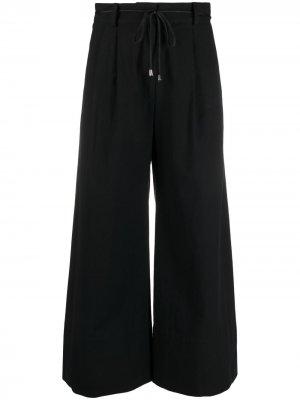 Расклешенные брюки с завышенной талией Baum Und Pferdgarten. Цвет: черный