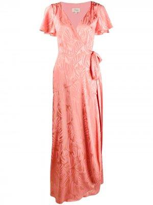 Платье Fresco с запахом Temperley London. Цвет: розовый