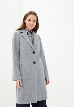 Пальто Marks & Spencer. Цвет: серый